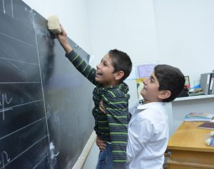 Photo from the inclusive school Yerevan