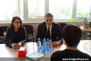 Meeting with Ombudsman at Bridge of Hope office