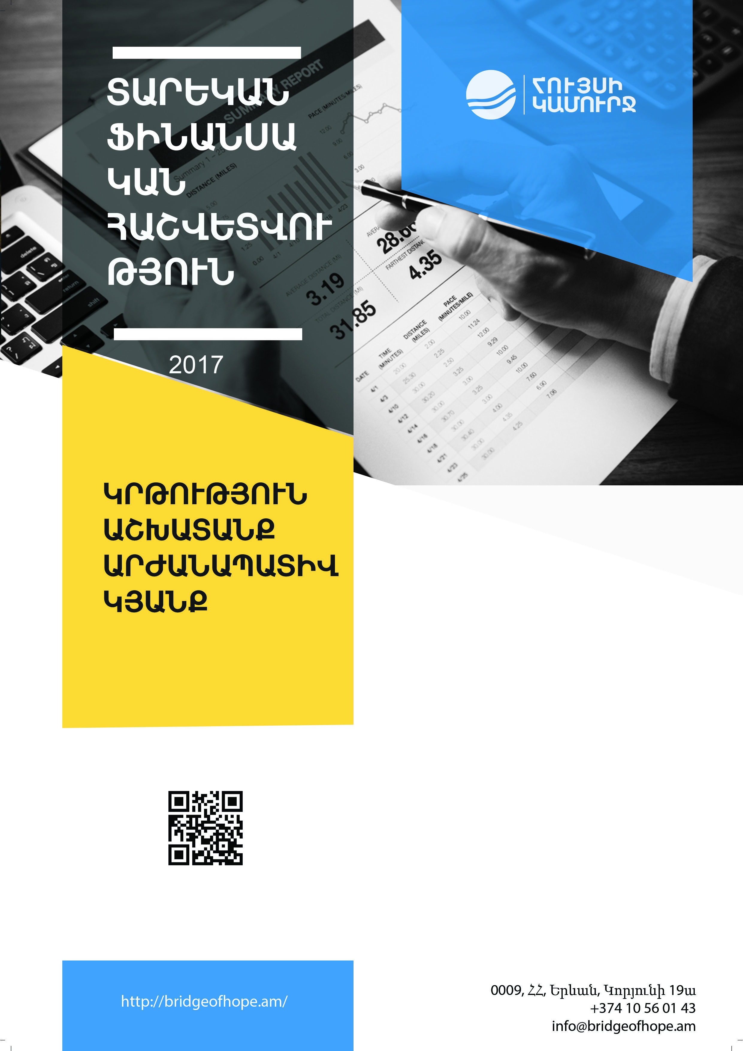 Cover photo of Financial report