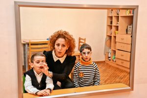 Pedagogical psychological support. Child from BoH Child care center with the specialist